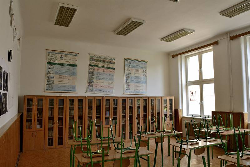 Učebna přírodopisu je také s rekonstrukcí na řadě