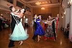 Z Velké ceny Berouna, celorepublikové soutěže ve sportovním tanci.