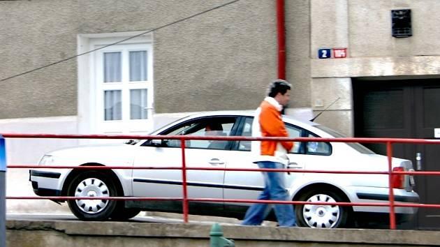 Řidič porušuje zákaz vjezdu