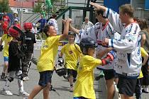 Hokejbalový turnaj mládeže v Berouně