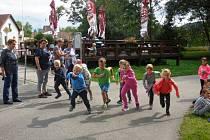 Děti z družiny při Základní škole Beroun, Závodí už mají za sebou spoustu nových zážitků.