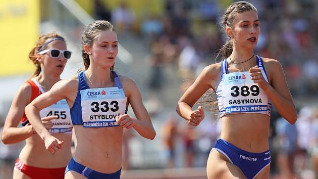 Berounští atleti na mistrovství republiky.
