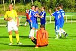Pětkrát se radovali z gólového úspěchu fotbalisté Hořovicka.