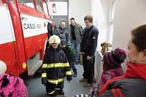 Dětem se u hasičů líbilo
