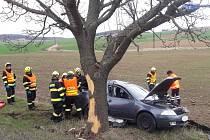 Tragická dopravní nehoda u obce Železná.