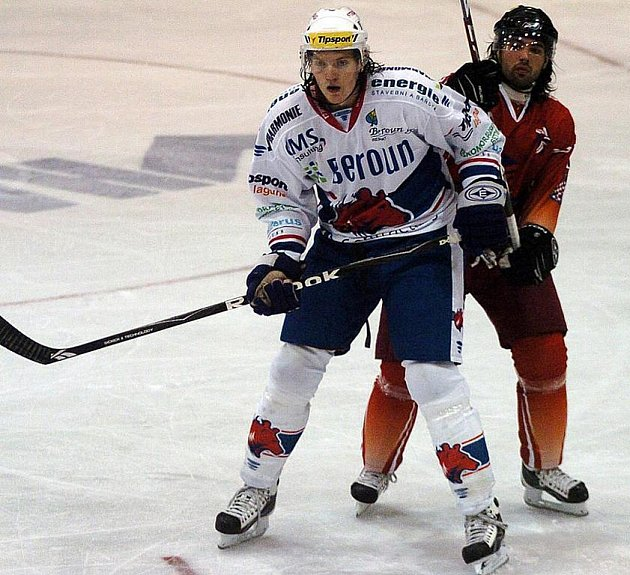 Hokej, 1.liga - ilustrační Beroun