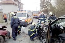 Dopravní nehoda Černošice
