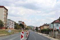 Plzeňská ulice v Berouně.