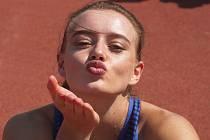 Česká sprinterka Nikola Bendová