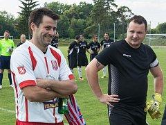 Karlštejn ocenil dva hráče, kteří odehráli svůj poslední zápas v jeho dresu - brankáře Jiřího Humpolíka a Jiřího Kučeru.