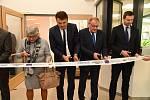 Ze slavnostního otevření přístavby 2. základní školy v Preislerově ulici v Berouně.