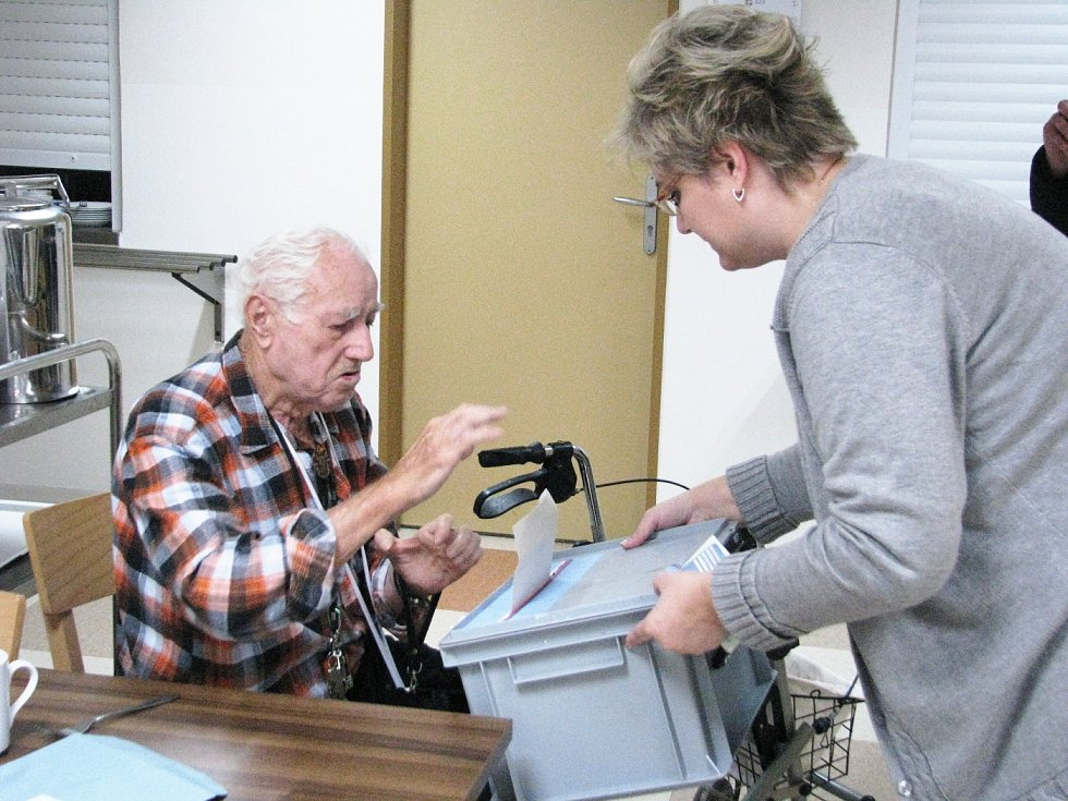 Volby v Domově důchodců TGM v Berouně