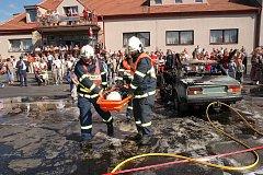 Před deseti lety dorazilo na oslavy 100. výročí tlustických dobrovolných hasičů na náves na 350 návštěvníků.