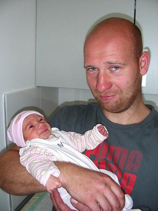 Šťastným manželům Silvii a Josefovi Kubyštovým z Vinařic se v neděli 28. srpna 47 minut po 22. hodině narodila prvorozená holčička Nikolka. Princezně Nikolce navážily sestřičky na porodním sále 2,43 kg a naměřily 46 cm.
