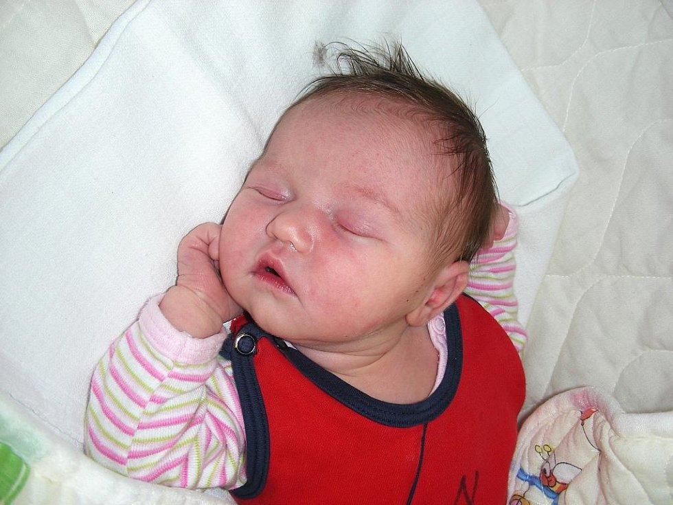 Mamince Renatě Pacasové a tatínkovi Martinovi Pekárkovi se 28. srpna v 11:33 hodin narodilo první miminko, holčička Viktorie s váhou 3,34 kg a mírou 50 cm. Šťastní rodiče si Viktorku odvezou z porodnice do Prahy.