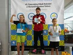 Berounští plavci byli v Mladé Boleslavi úspěšní.