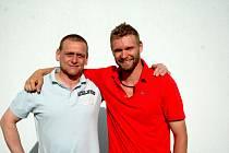 Martin Růžička s Miroslavem Porschem