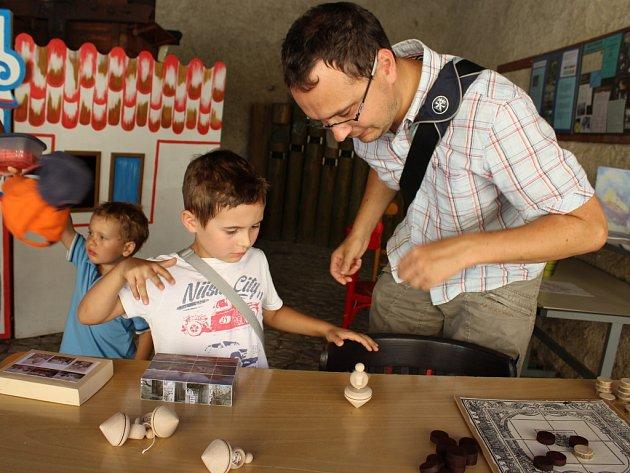 Muzeum Českého krasu - akce Hrátky za muzejními vrátky