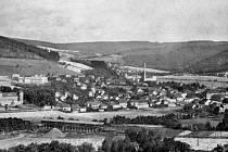 Obec Loděnice. Celkový pohled.
