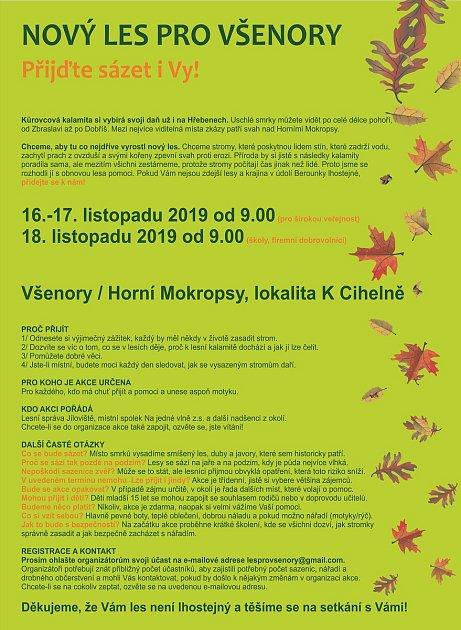 Nový les pro Všenory / Přijďte sázet iVy!