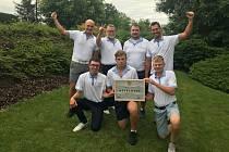 Mužský tým Beroun Golf Clubu.