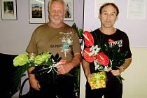 Michal Jirava z Berouna a Václav Teplý z Újezdu se stali jubilejními dárci krve