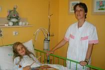 Lůžkové oddělení dětsko-kojenecké zajišťuje léčebnou péči pacientů od narození do osmnáctého  roku dítěte