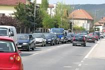 Kolaps v Lidické ulici na berounském Závodí