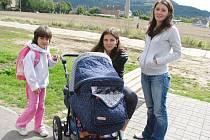 Lavičky přišly vhod hlavně maminkám s dětmi.