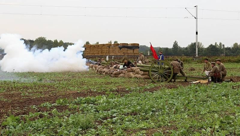 Rekonstrukce bojů legionářů s bolševiky z minulých let.