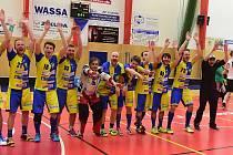 Florbalisté T.B.C. porazili Turnov a jsou ve finále Národní ligy.