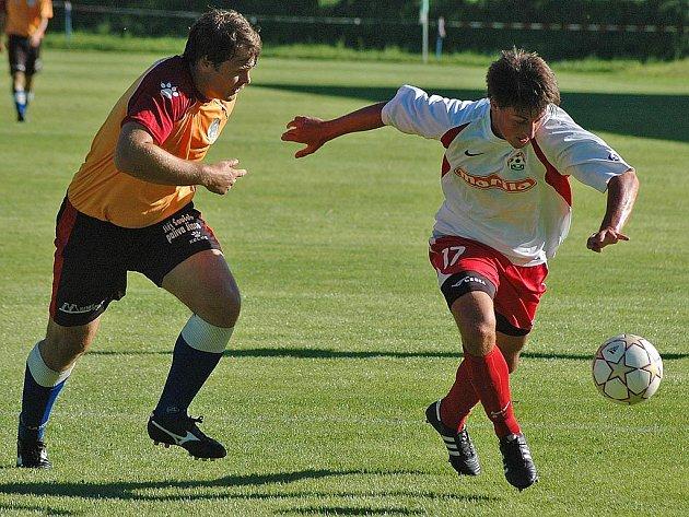 Fotbalisté Hořovicka porazili Votice 2:0