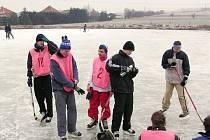 Hokej na rybníce
