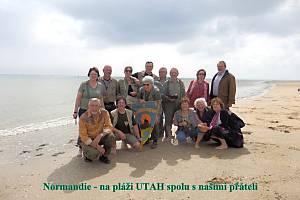 Kamarádi Staré řeky se vydali do Normandie.