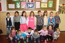 Školáci z 1. B  2. základní školy v Hořovicích.