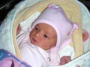 ALŽBĚTA Vetchá se narodila 7. ledna 2018 manželům Martině a Lukášovi z Mezouně. Bětušce sestřičky na porodním sále navážily 2,92 kg a naměřily 47 cm. Z malé sestřičky se radují Kačenka (10) a Majdalenka (1,5).