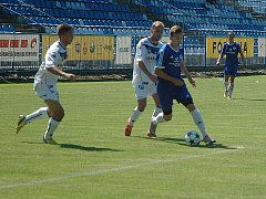 Stadion Františka Kloze v Kladně byl svědkem přípravného duelu divizních týmů.