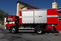 Hasičský kontejner pro technické zásahy.
