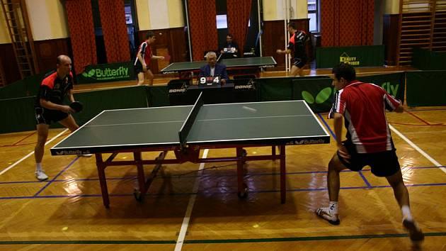 Extraliga stolního tenisu - Králův Dvůr - ilustrační foto