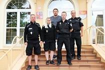 Městská policie Králův Dvůr.
