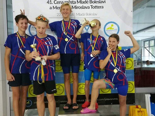 Výpravě berounské Lokomotivy se v Mladé Boleslavi dařilo.