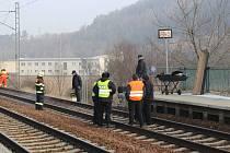 Tragické neštěstí na železniční trati v Popovicích u Berouna
