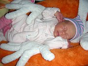 PRVOROZENÁ dcerka Sofie Zíková se narodila 14. října 2017 rodičům Vladimíře Zíkové a Janovi Říhovi z Hořovic. Sofince sestřičky na porodním sále navážily 1,90 kg a naměřily 42,5 cm.