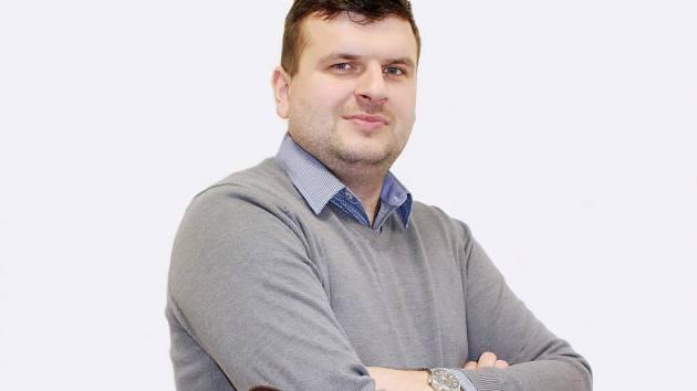 Miroslav Elsnic, šéfredaktor Kladenského a Rakovnického deníku.