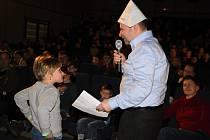 Dopolední doprovodnýprogram Trilobit Beroun v berounském kině patřil dětem