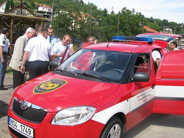 Zásahy hasičů budou díky moderní technice kvalitnější a rychlejší