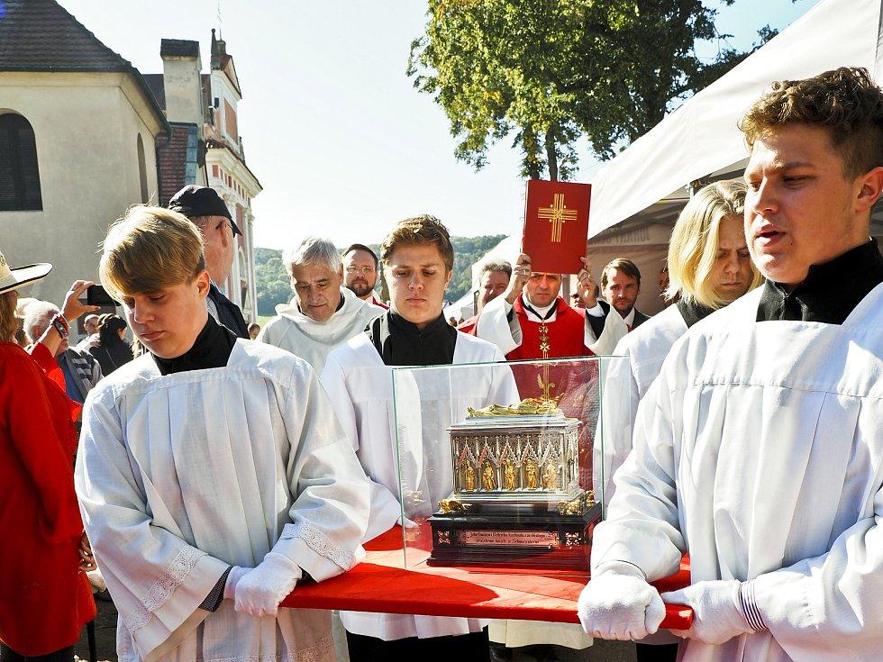 Oslavy v Tetíně z minulých let.