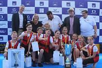 Berounští veslaři slaví zlato mladších žáků na republikovém šampionátu 2019.