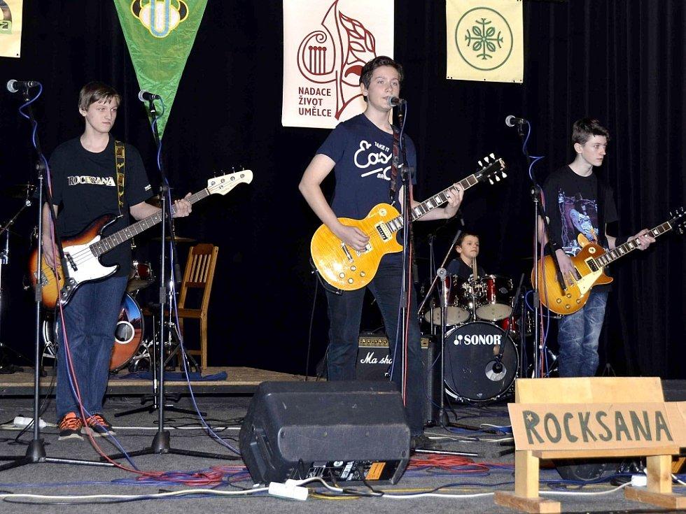 Hudební skupina Rocksana ze Zaječova
