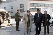 Slavnostní otevření Army muzea Zdice